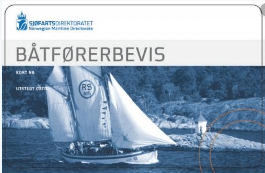 Båtførerprøven -Båtførerbevis